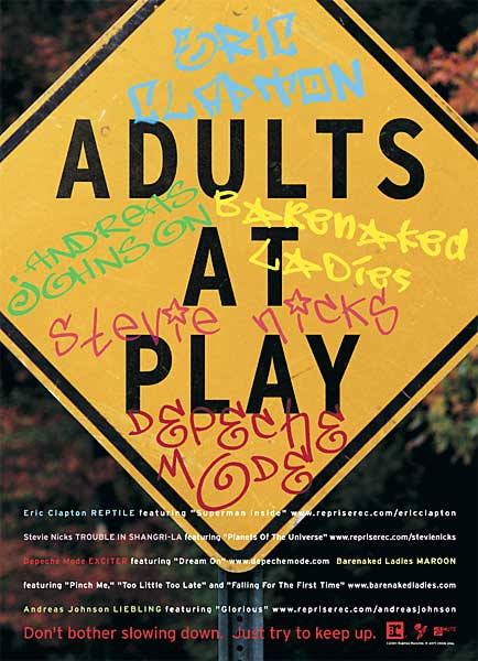 Multi-Artist Ad for Adults